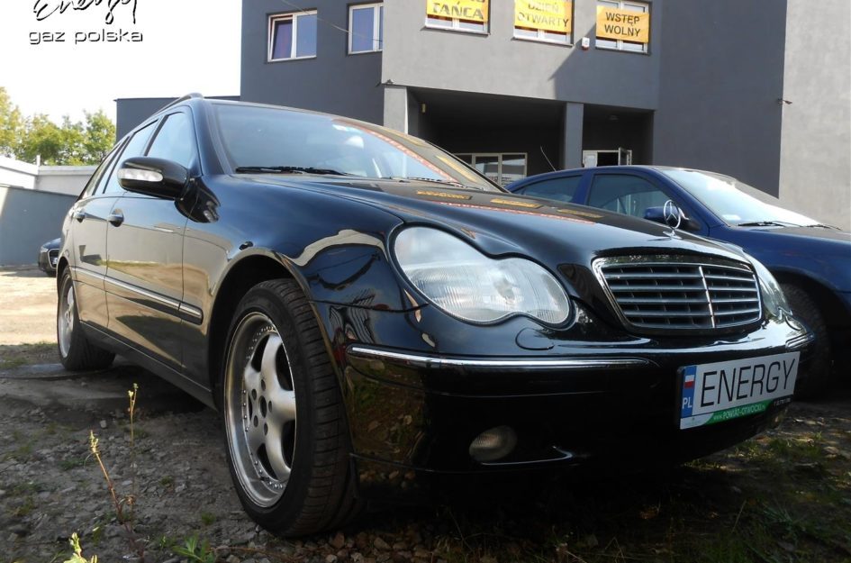 Mercedes C Klasa 3.2 V6 2001r LPG