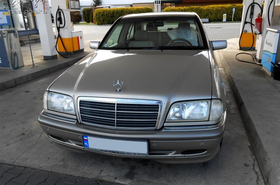 Mercedes C-klasa 1.8 1998r LPG