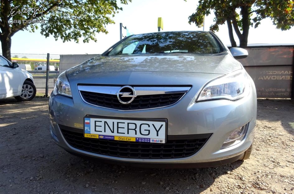 Opel Astra 1.4T 2012r LPG