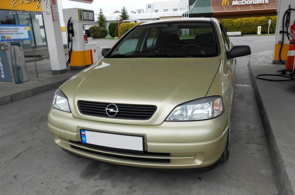Opel Astra 1.6 2005r LPG