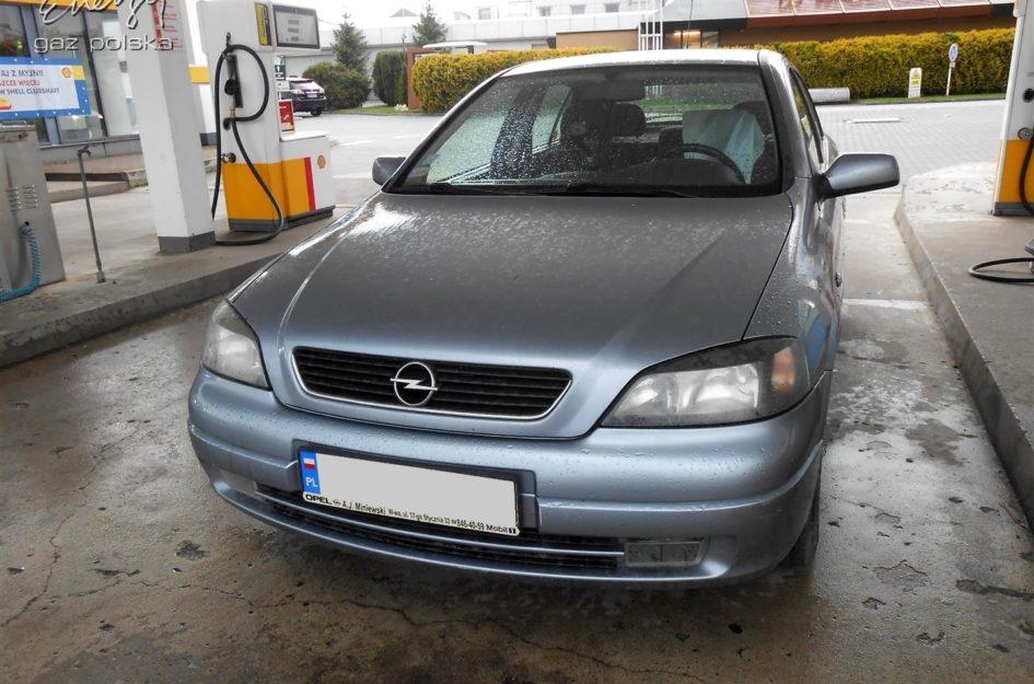 Opel Astra 1.6 2003r LPG