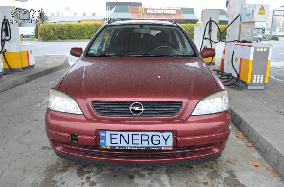 Opel Astra 1.6 2001r LPG