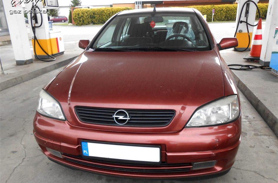 Opel Astra 1.6 2000r LPG