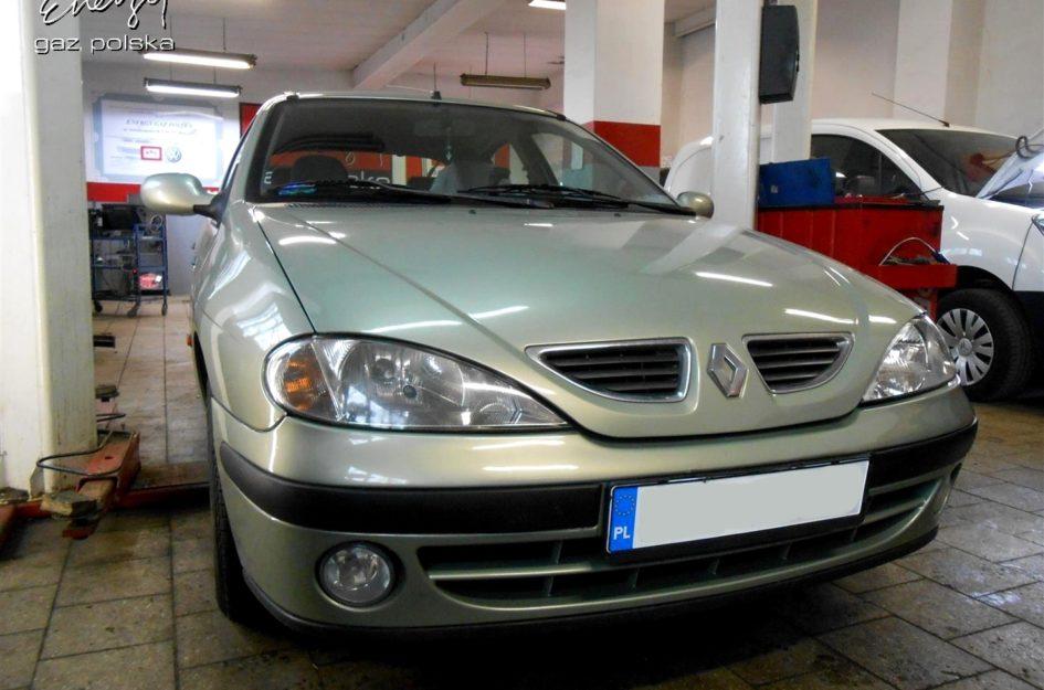 Renault Megane 1.6 2002r LPG