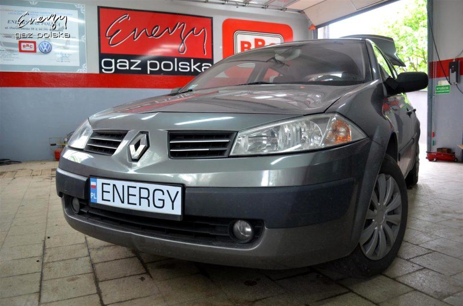 Renault Megane 1.6 2003r lpg