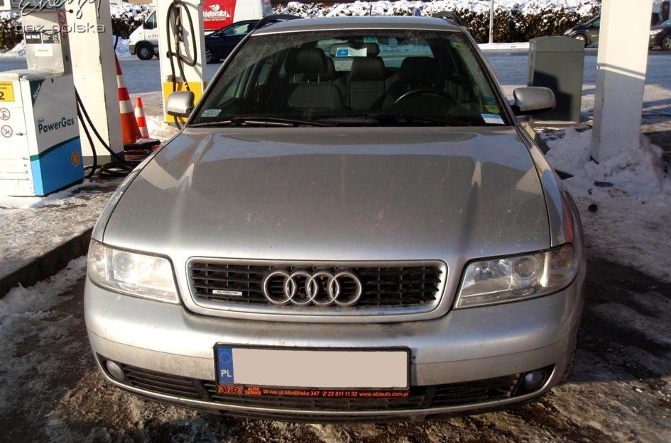 Audi A4 1.8T 2000r LPG