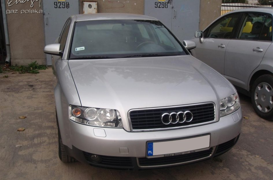 Audi A4 2.0 2001r LPG