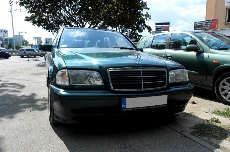 Mercedes C-klasa 2.0 2001r LPG