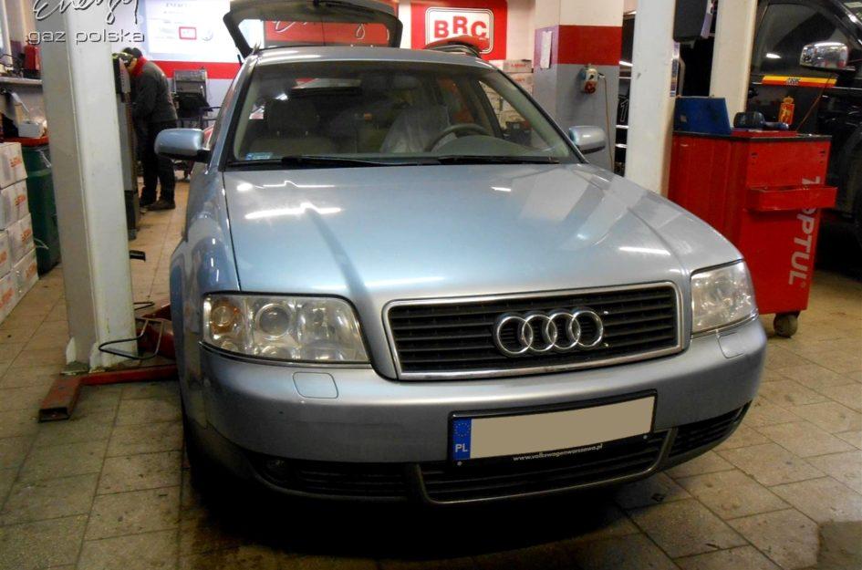 Audi A6 1.8T 2003r LPG