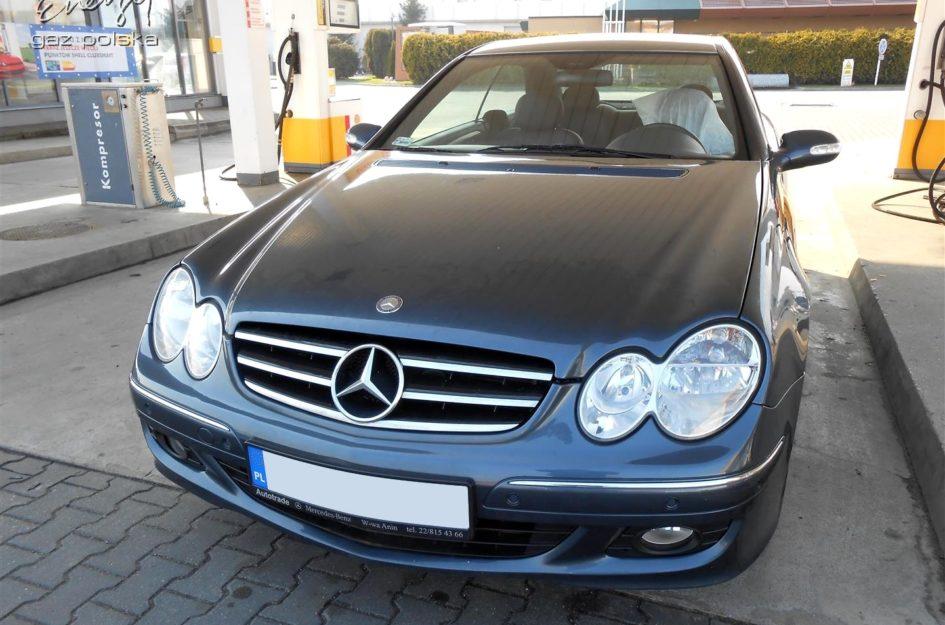 Mercedes CLK 200 Kompressor 1.8 2007r LPG