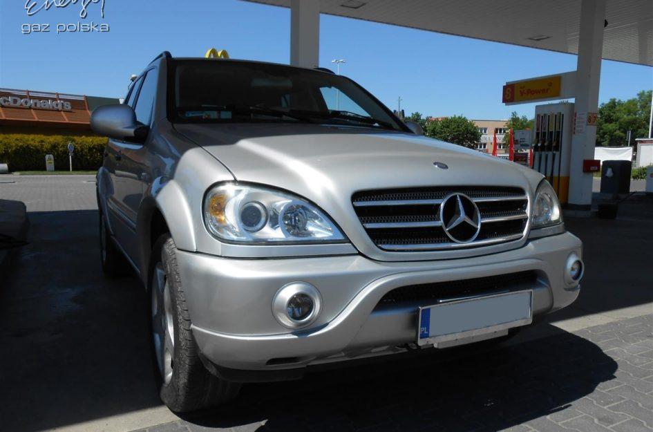 Mercedes ML 320 3.2 2001r LPG