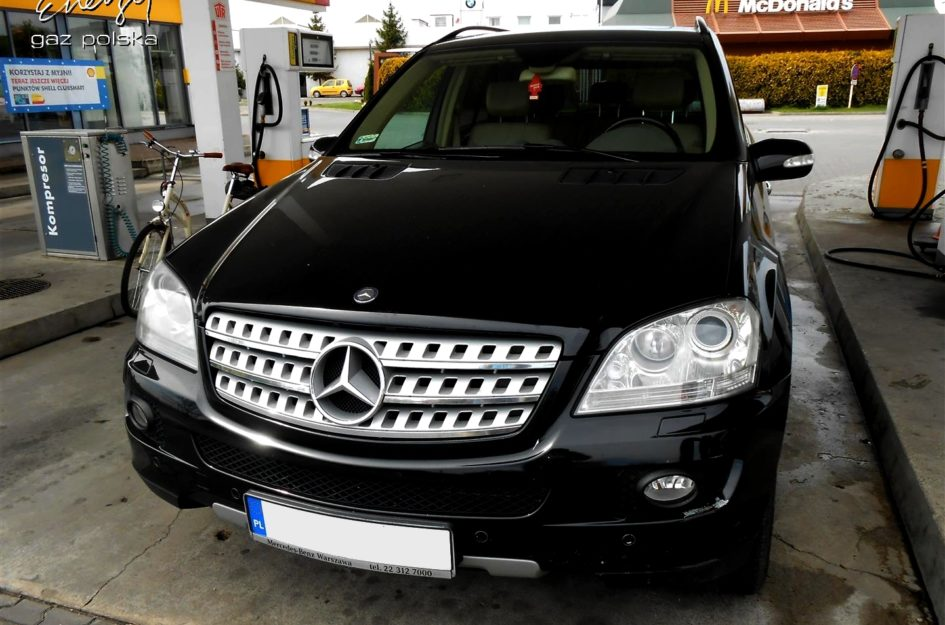 Mercedes ML 350 3.5 V6 2007r LPG