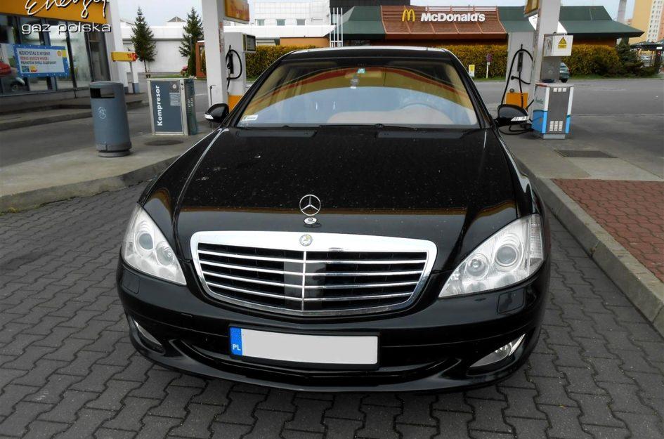 Mercedes S500 5.5 V8 2006r LPG
