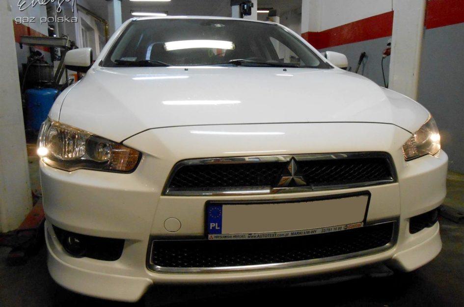 Mitsubishi Lancer 1.8 2011r LPG