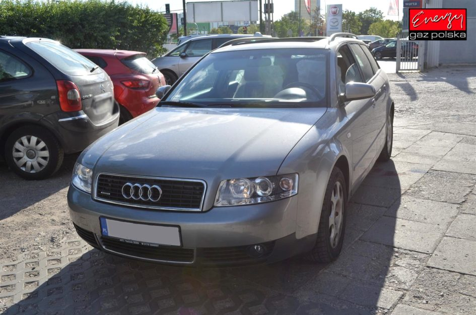AUDI A4 1.8T 163KM 2003R LPG