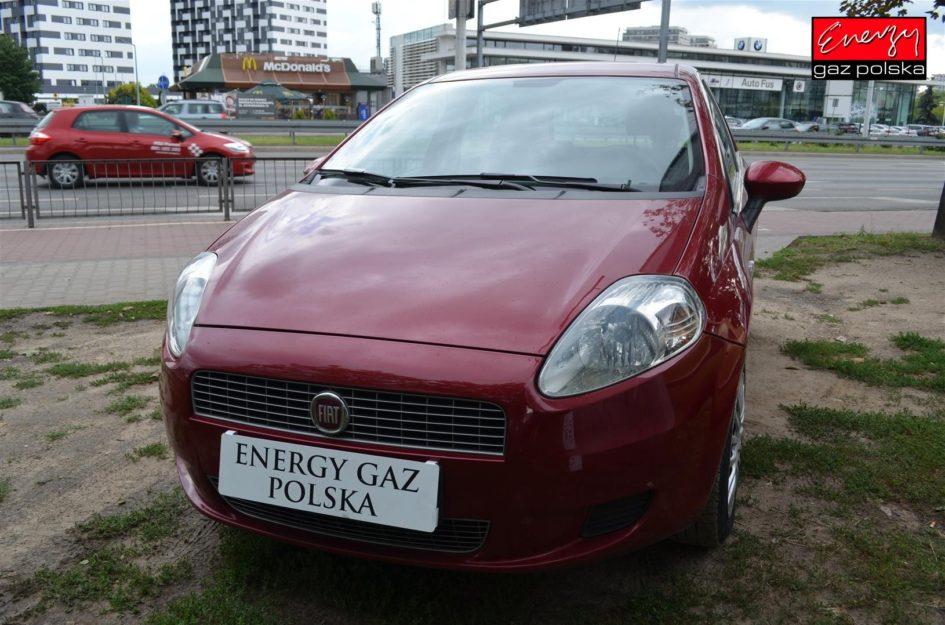 FIAT GRANDE PUNTO 1.4 77KM 2009R LPG