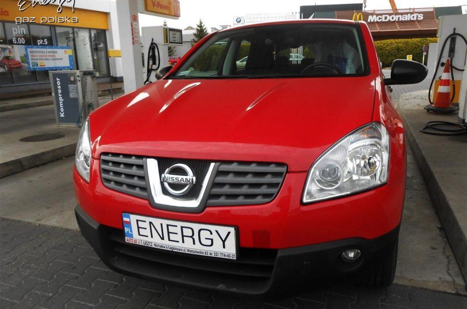 Nissan Qashqai 1.6 2009r LPG