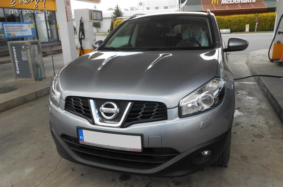 Nissan Qashqai 1.6 2010r LPG