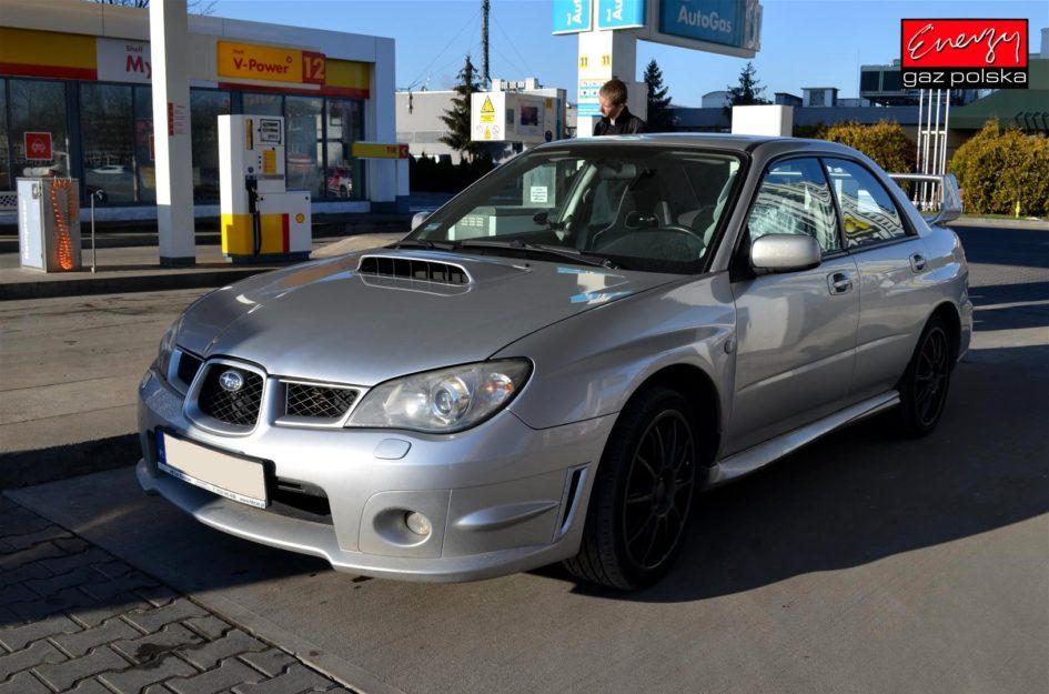 Subaru Impreza WRX 2.5 260KM 2005r LPG