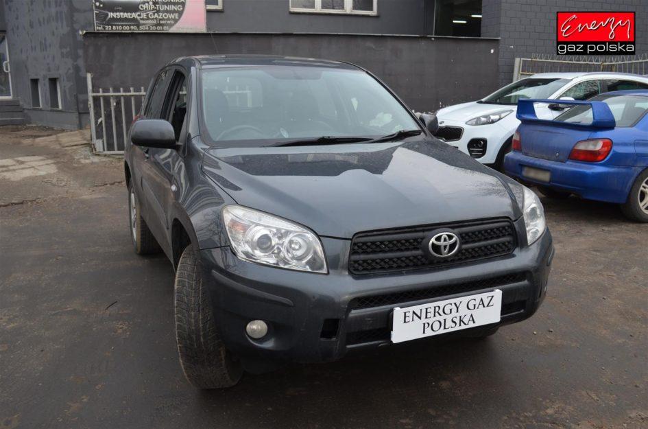TOYOTA RAV4 2.0 152KM 2008R LPG