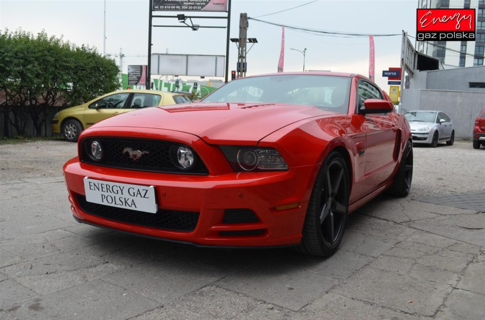 FORD MUSTANG 5.0 418KM 2014R LPG