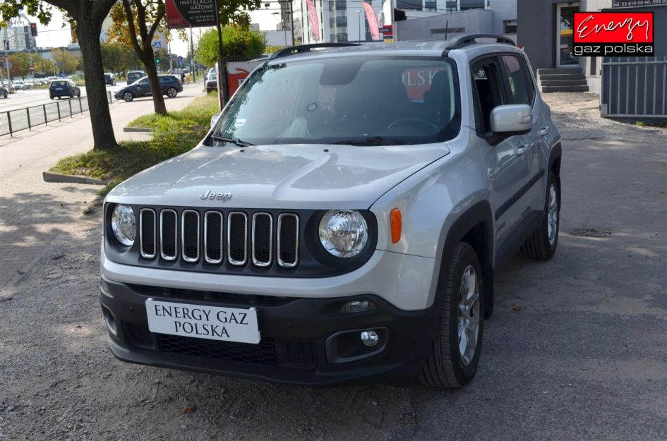 JEEP RENEGADE 1.4 140KM 2014R LPG