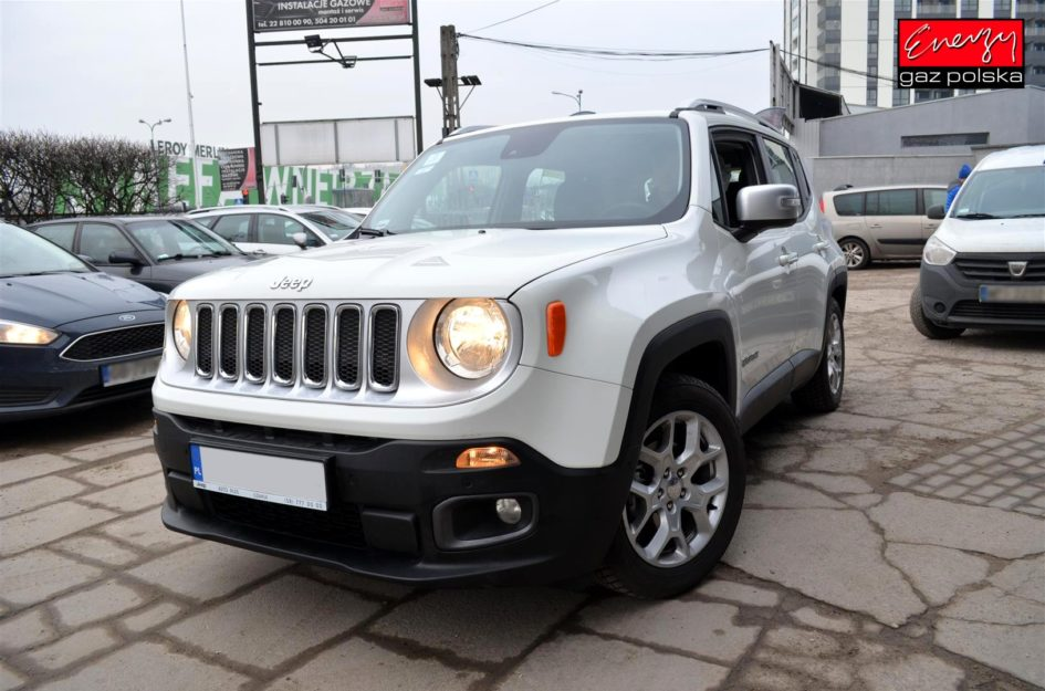 JEEP RENEGADE 1.4 140KM 2017R LPG