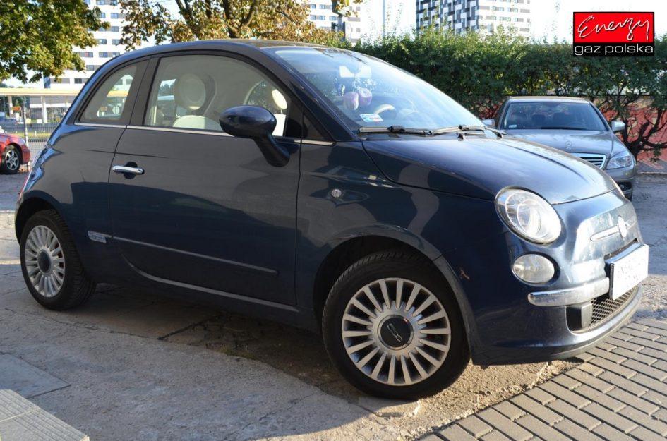 FIAT 500 1.2 69KM 2008R LPG