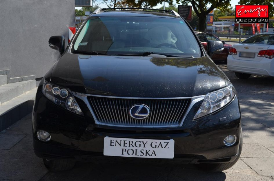 LEXUS RX450 3.5 V6 299KM 2011R LPG