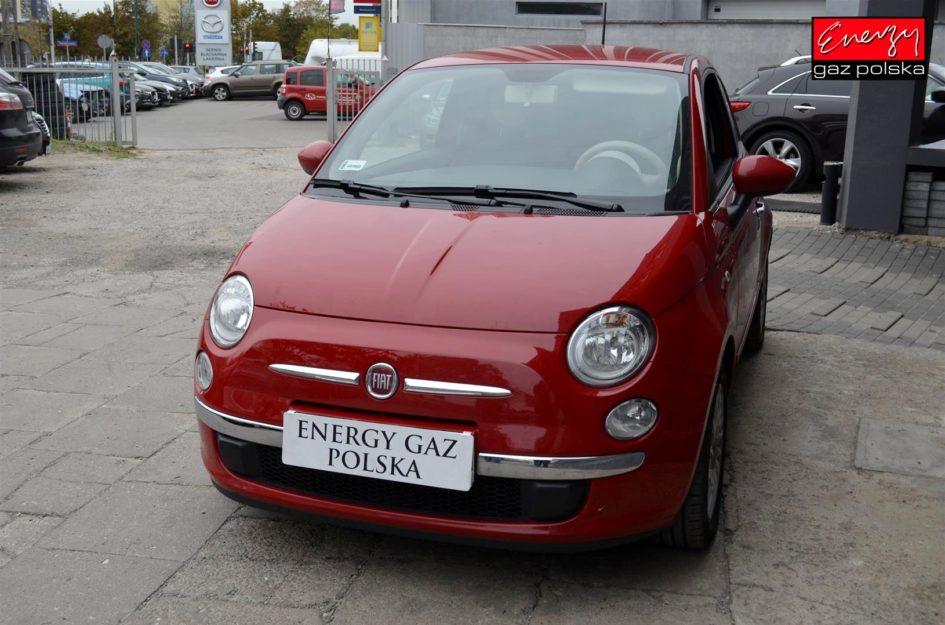FIAT 500 1.2 69KM 2015R LPG