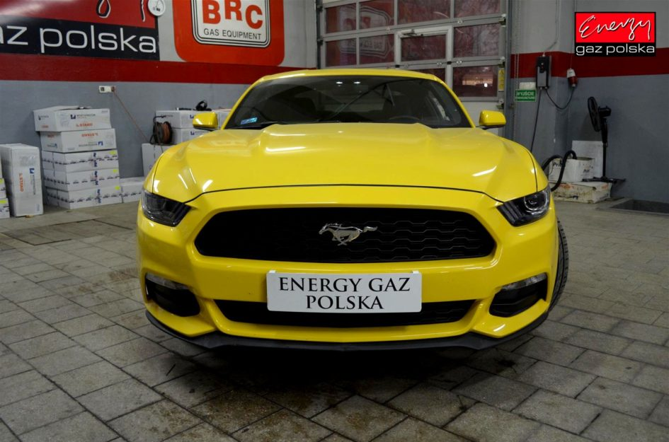 FORD MUSTANG 3.7 305KM 2015R LPG