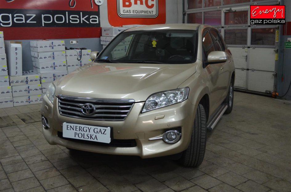 TOYOTA RAV 4 2.0 158KM 2011R LPG