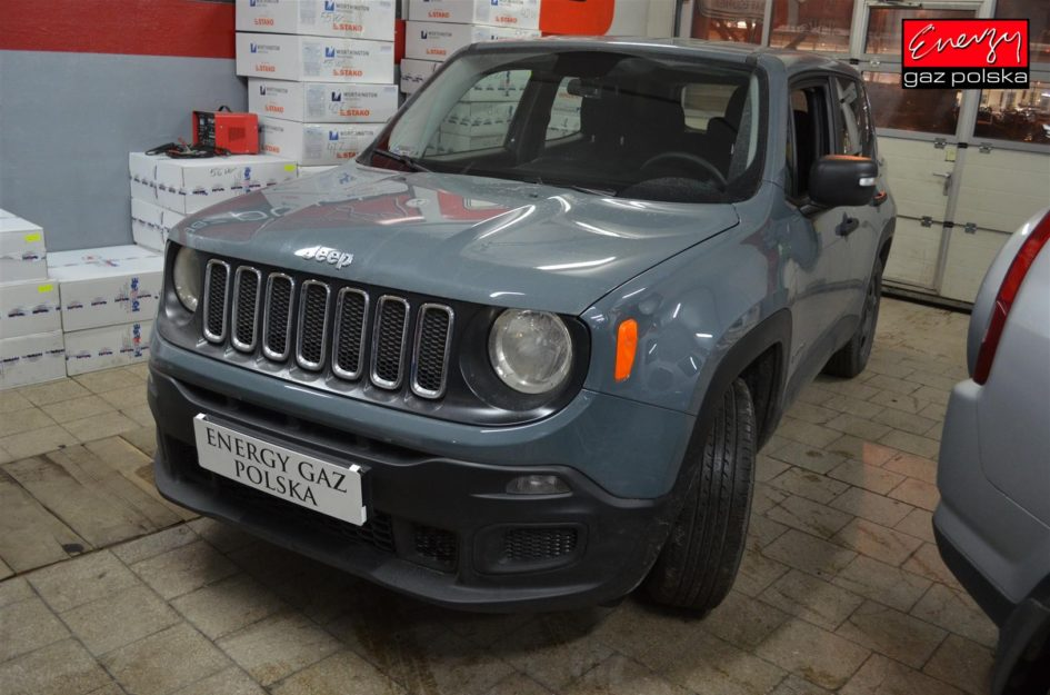JEEP RENEGADE 1.6 110KM 2017R LPG