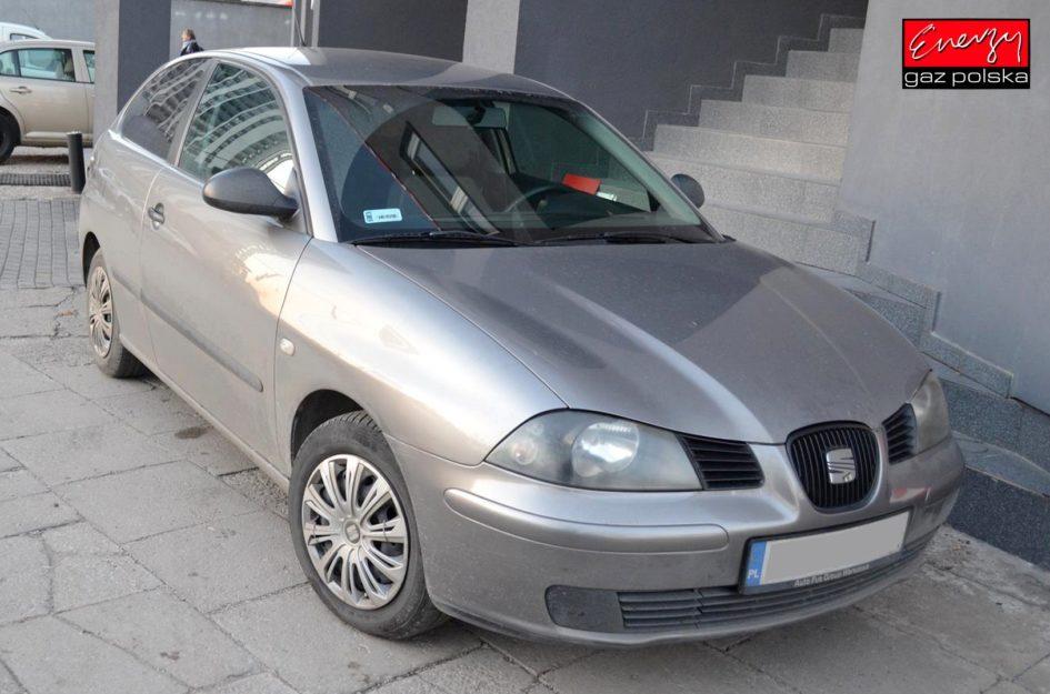SEAT IBIZA 1.4 80KM 2003R LPG