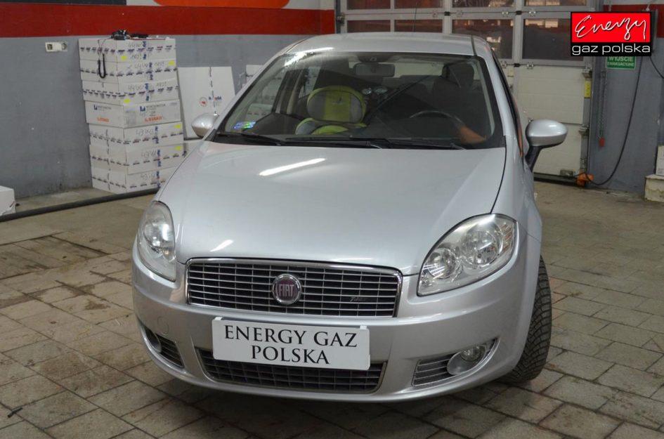 FIAT LINEA 1.4 120KM 2008R LPG