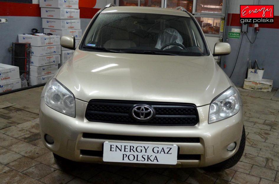 TOYOTA RAV4 2.0 150KM 2007R LPG