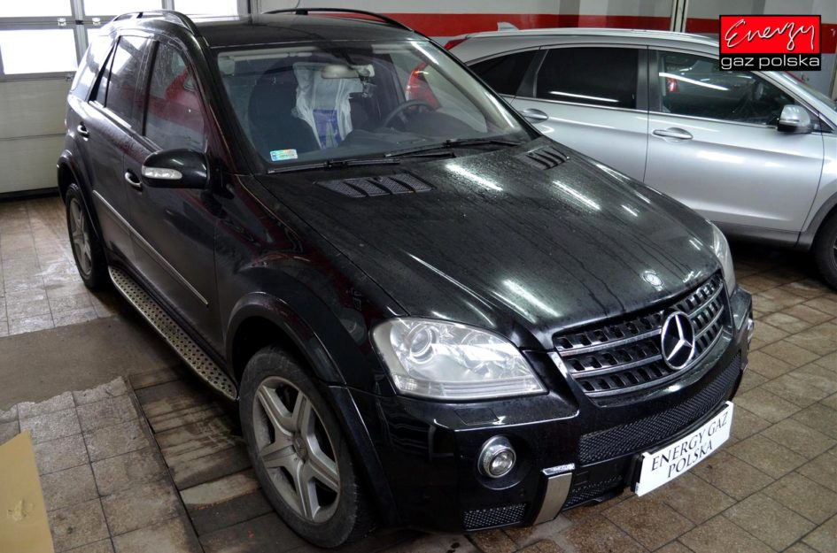 MERCEDES ML63 AMG 6.2 510KM 2007R LPG