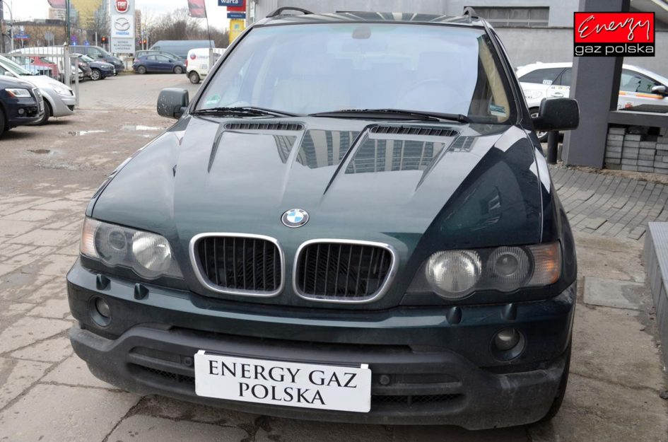 BMW X5 3.0 231KM 2002R LPG