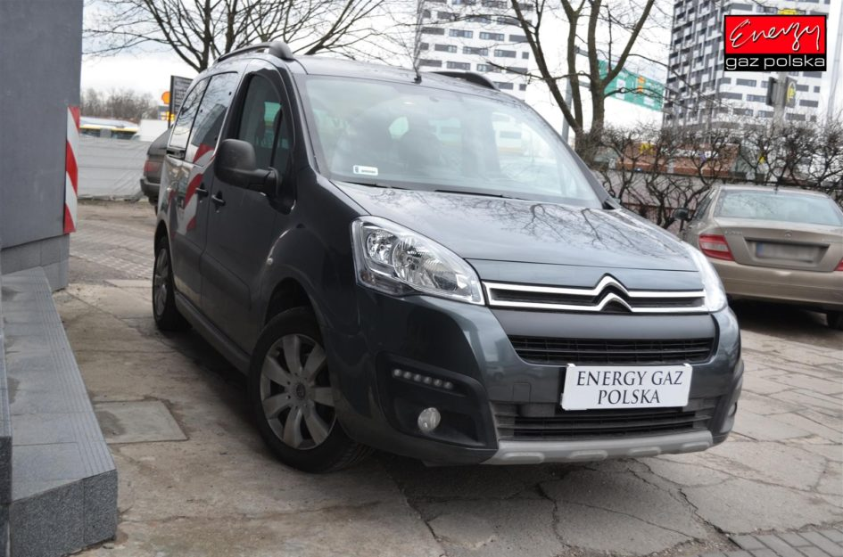 CITROEN BERLINGO 1.6 120KM 2018R LPG