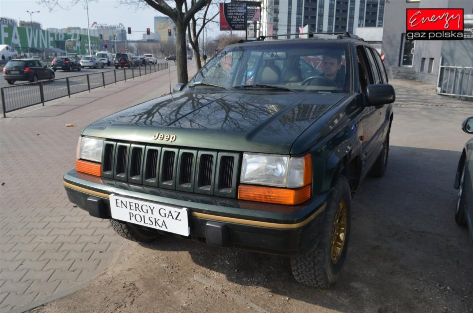 JEEP GRAND CHEROKEE 4.0 188KM 1995R LPG