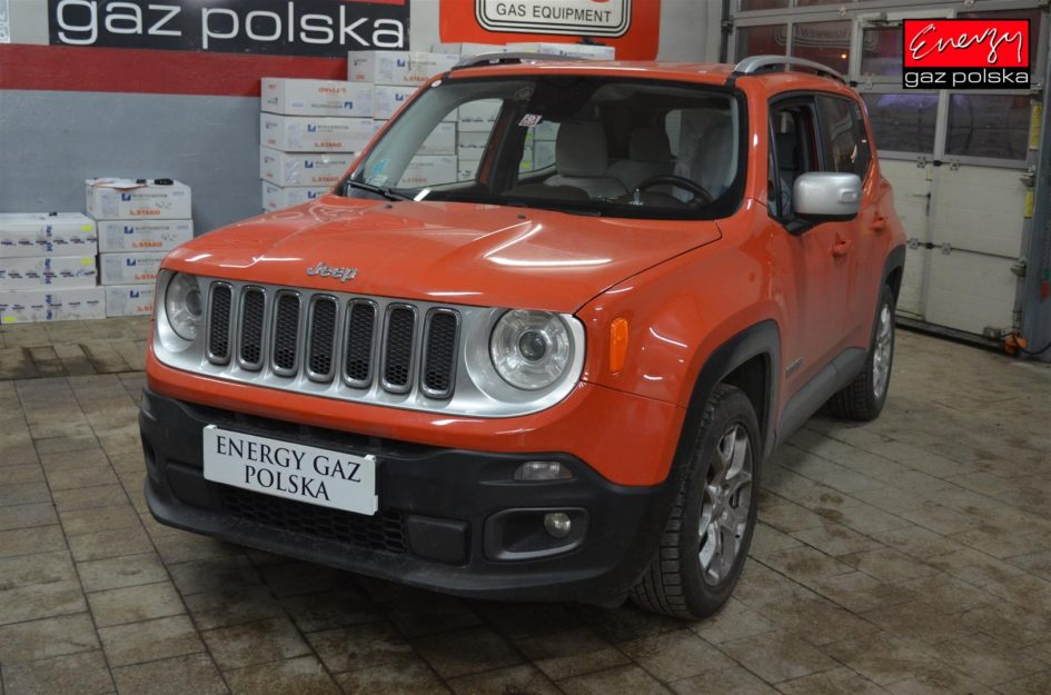 JEEP RENEGADE 1.4 140KM 2015R LPG