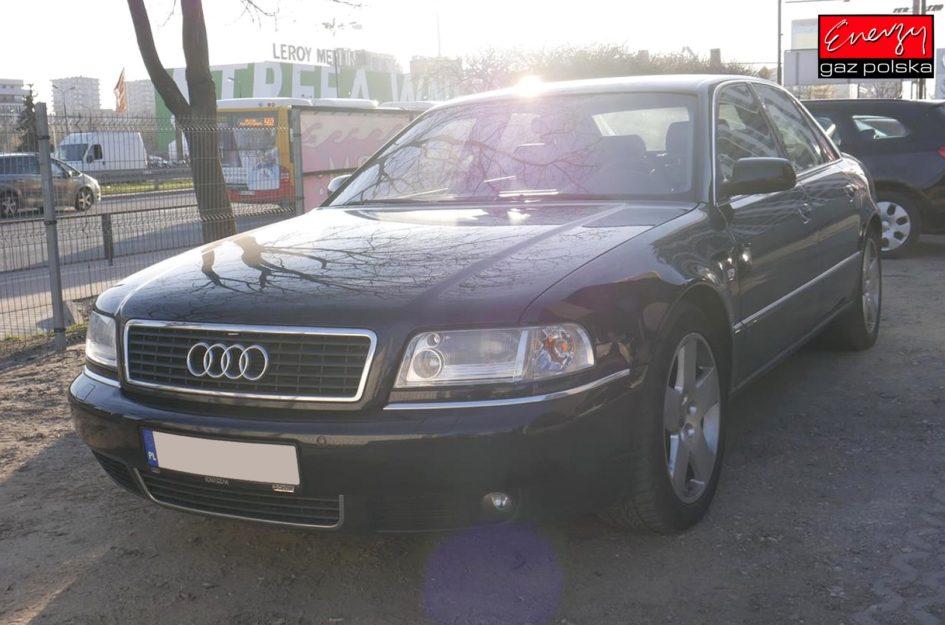 AUDI A8 4.2 310KM 2002R LPG