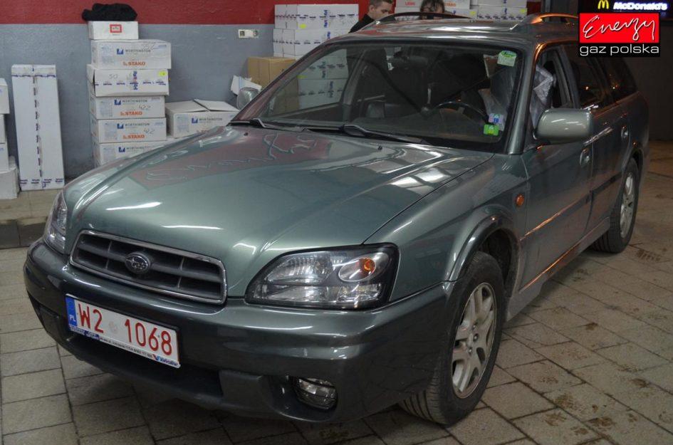 SUBARU LEGACY 2.0 165KM 2010R LPG