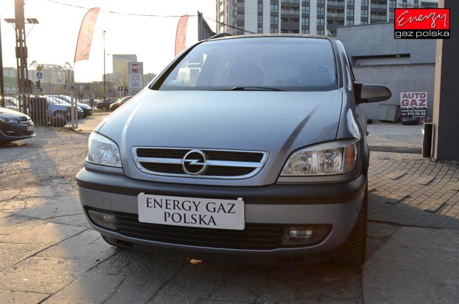 OPEL ZAFIRA 1.8 125KM 2003R LPG