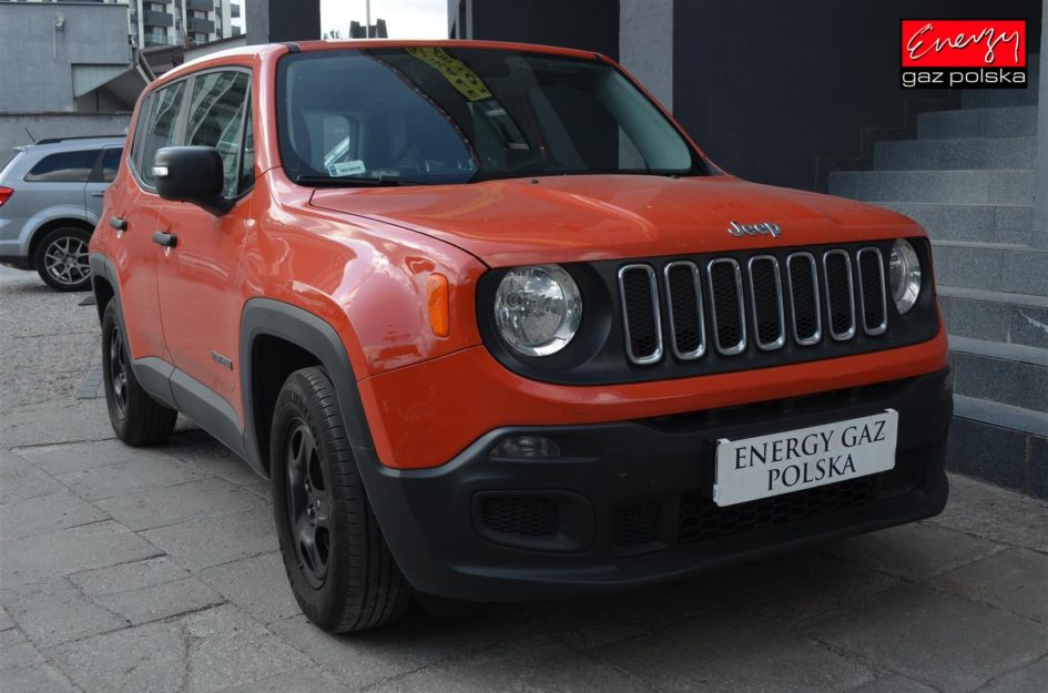 JEEP RENEGADE 1.6 110KM 2010R LPG