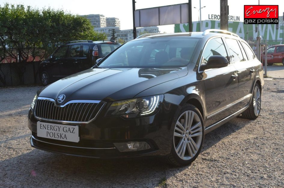 SKODA SUPERB 2.0 260KM 2014R LPG
