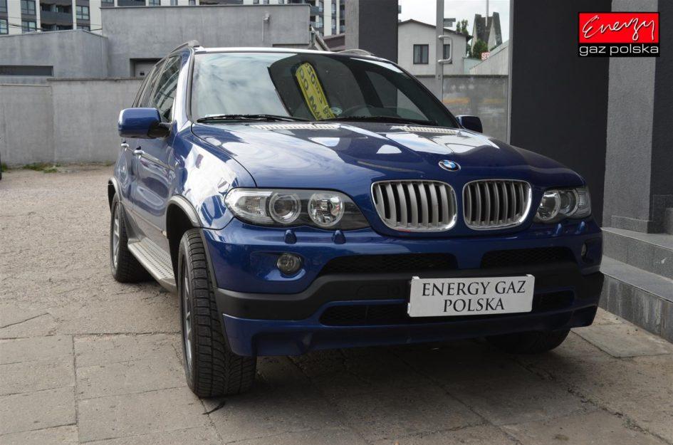 BMW X5 4.8 355KM 2004R LPG