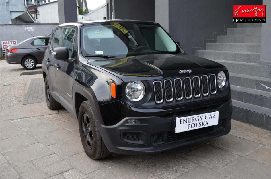 JEEP RENEGADE 1.6 110KM 2018R LPG