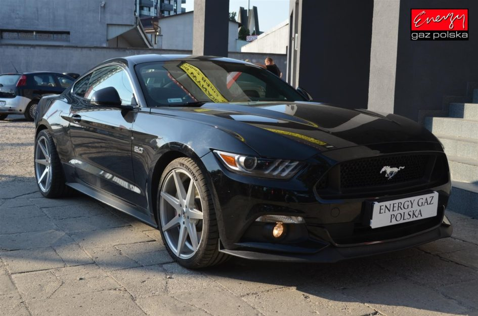 FORD MUSTANG 5.0 420KM 2016R LPG