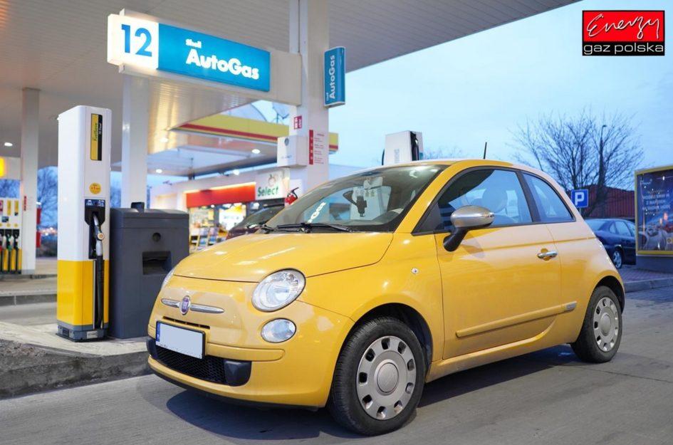 FIAT 500 1.2 70KM 2015R LPG